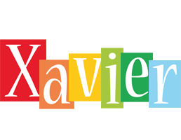 Xavier colors logo