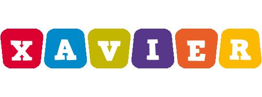 Xavier daycare logo