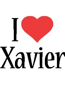 Xavier i-love logo