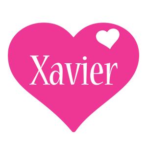 Xavier love-heart logo