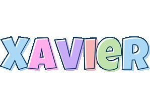 Xavier pastel logo