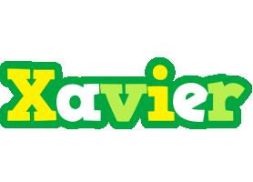 Xavier soccer logo