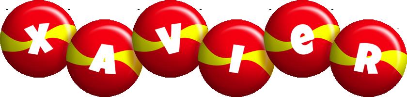 Xavier spain logo
