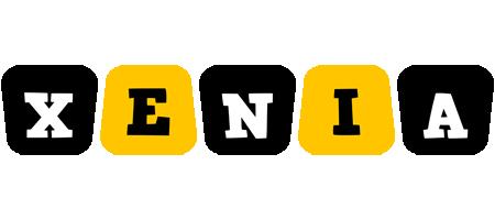 Xenia boots logo