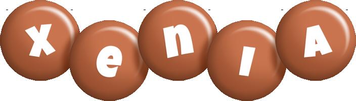 Xenia candy-brown logo