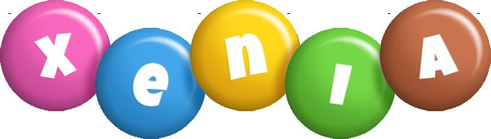 Xenia candy logo