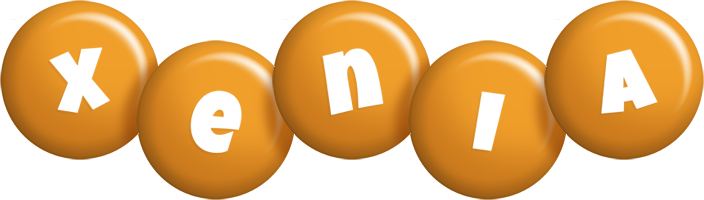 Xenia candy-orange logo