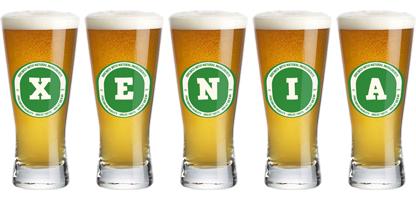 Xenia lager logo