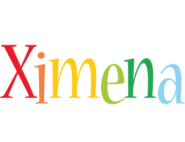 Ximena birthday logo