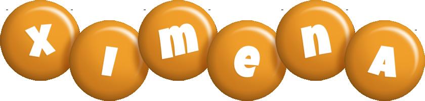 Ximena candy-orange logo