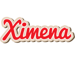 Ximena chocolate logo