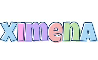 Ximena pastel logo