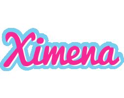 Ximena popstar logo