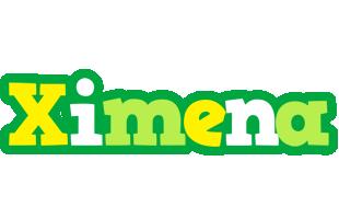 Ximena soccer logo