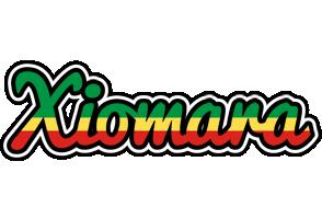Xiomara african logo