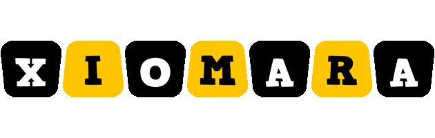 Xiomara boots logo