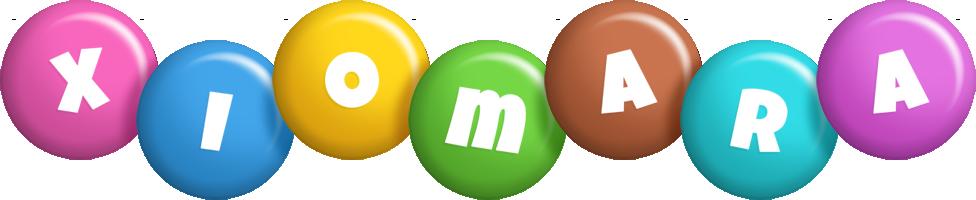 Xiomara candy logo