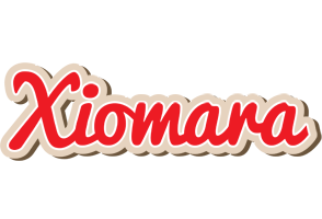 Xiomara chocolate logo