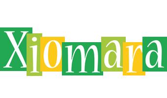 Xiomara lemonade logo