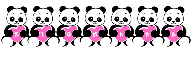 Xiomara love-panda logo
