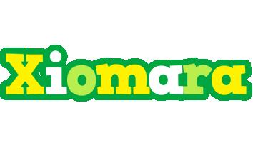 Xiomara soccer logo