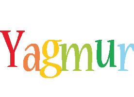 Yagmur birthday logo