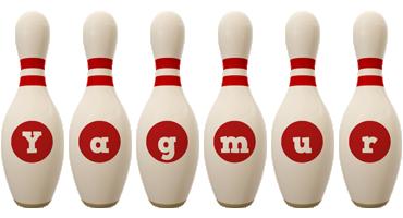 Yagmur bowling-pin logo