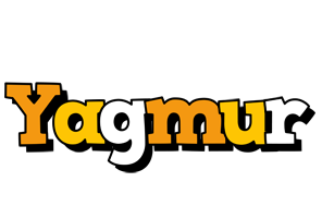 Yagmur cartoon logo