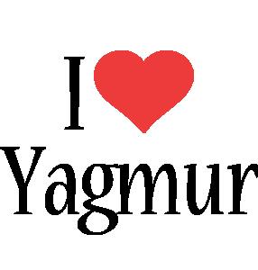 Yagmur i-love logo