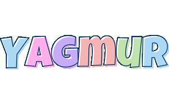 Yagmur pastel logo