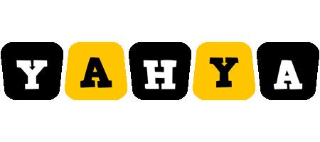 Yahya boots logo