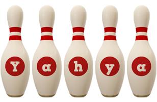 Yahya bowling-pin logo