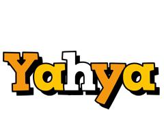 Yahya cartoon logo