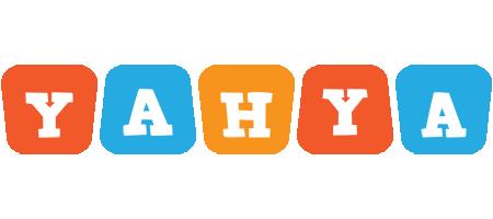 Yahya comics logo