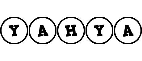 Yahya handy logo