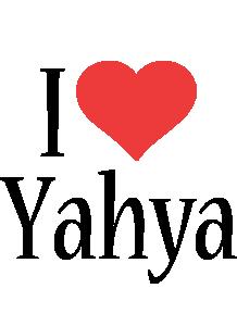 Yahya i-love logo