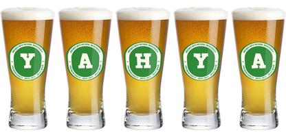 Yahya lager logo
