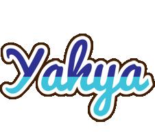 Yahya raining logo