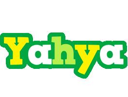 Yahya soccer logo