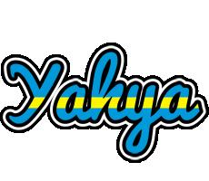 Yahya sweden logo