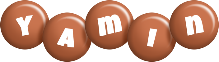 Yamin candy-brown logo