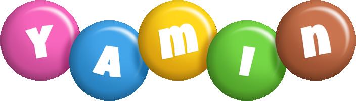 Yamin candy logo