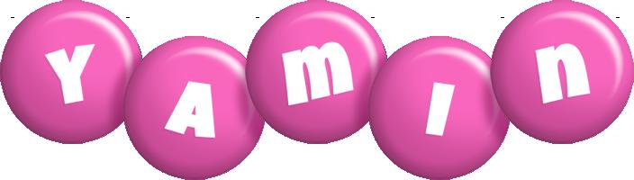 Yamin candy-pink logo