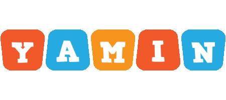 Yamin comics logo