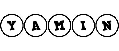 Yamin handy logo