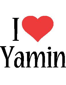 Yamin i-love logo