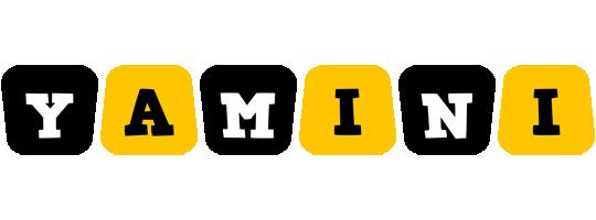Yamini boots logo