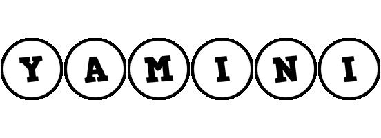 Yamini handy logo