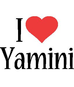 Yamini i-love logo