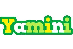 Yamini soccer logo